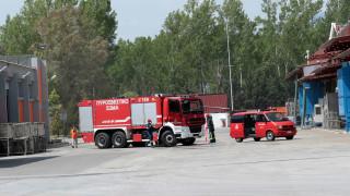 Ξάνθη: Έσβησε η φωτιά στο εργοστάσιο - Σε εφαρμογή προληπτικά μέτρα προστασίας των κατοίκων
