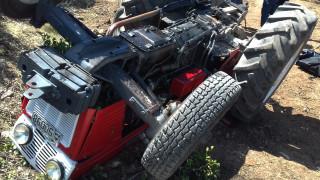 Χαλκιδική: 31χρονος καταπλακώθηκε από το τρακτέρ του