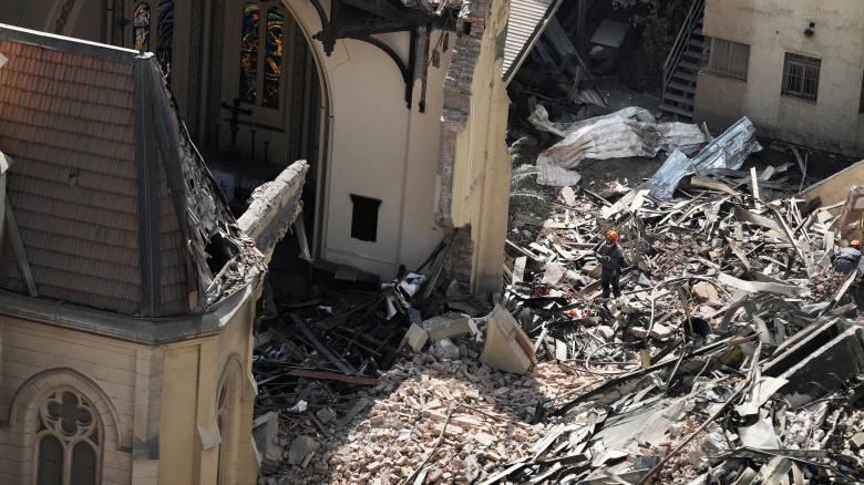 Βραζιλία: 44 αγνοούμενοι από κατάρρευση πολυόροφου κτιρίου στο Σάο Πάολο