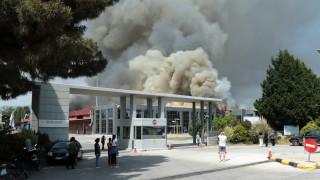 Ξάνθη: Κλειστά σήμερα τα σχολεία λόγω της πυρκαγιάς στο εργοστάσιο