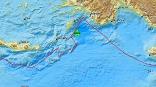 Σεισμός 4,5 Ρίχτερ νότια της Ρόδου