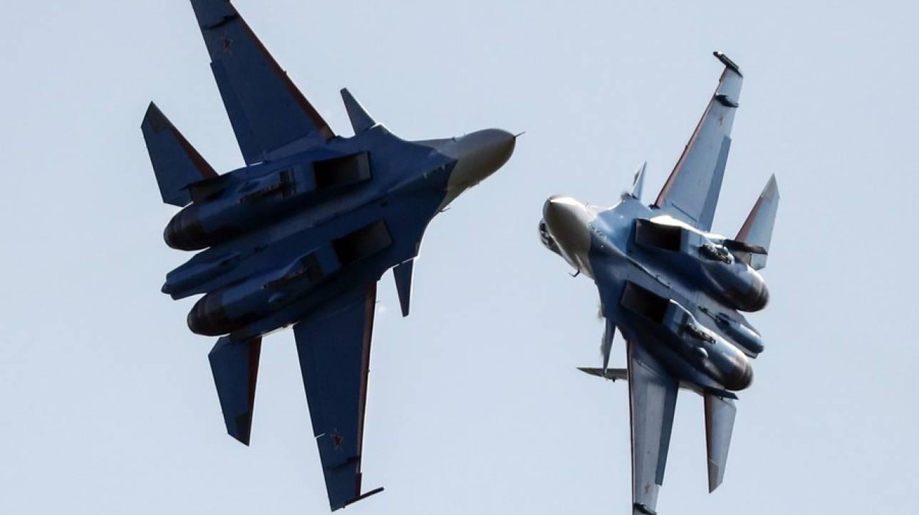 Συντριβή ρωσικού μαχητικού στη Συρία