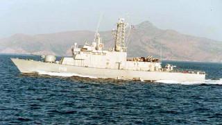 Τουρκικό εμπορικό πλοίο «ακούμπησε» την κανονιοφόρο Αρματωλός