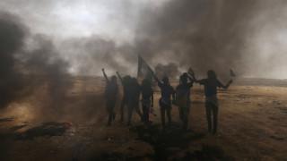 Γάζα: Νέα επεισόδια με δακρυγόνα και προειδοποιητικά πυρά κατά Παλαιστίνιων διαδηλωτών