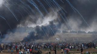 Νέες συγκρούσεις με δεκάδες τραυματίες στη Λωρίδα της Γάζας