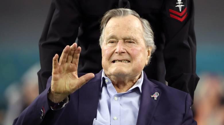 Εξιτήριο για τον Τζορτζ Μπους τον πρεσβύτερο