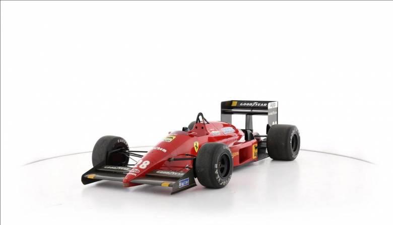 Αυτοκίνητο: Πωλείται τo τελευταίο μονοθέσιο που παρουσίασε η Scuderia με τον Enzo Ferrari εν ζωή