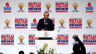 Ερντογάν: Η Άγκυρα δεν εγκατέλειψε ποτέ τον στόχο της για ένταξη στην Ε.Ε.
