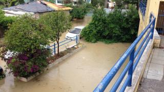 Εικόνες καταστροφής στη Λευκάδα: Πλημμύρισαν σπίτια και ξενοδοχεία