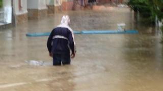 Κακοκαιρία: Προβλήματα σε Λευκάδα και Ηλεία προκάλεσε το μπουρίνι