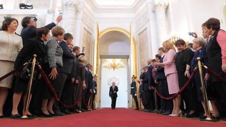 Βλαντιμίρ Πούτιν: Εντυπωσιακή η τελετή ορκωμοσίας του
