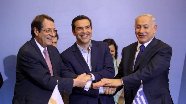 Περιφερειακές εξελίξεις και ενεργειακά στην Τριμερή Ελλάδας-Κύπρου-Ισραήλ