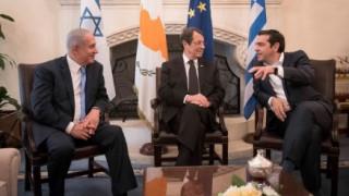 Συνάντηση κορυφής Ελλάδας-Κύπρου-Ισραήλ στη Λευκωσία