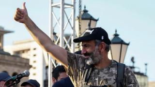 Ο Νικόλ Πασινιάν νέος πρωθυπουργός της Αρμενίας
