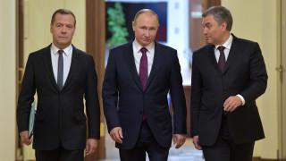 Ρωσία: Η Δούμα είπε «ναι» στη νέα θητεία του Μεντβέντεφ