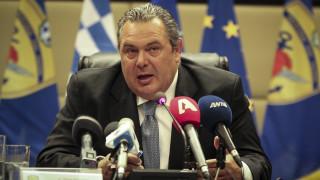 Την οικονομική στήριξη των δύο Ελλήνων στρατιωτικών ζητά ο Καμμένος