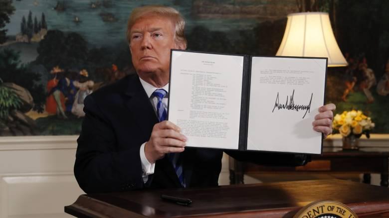 Ανησυχία και αντιδράσεις μετά την «πυρηνική» απόφαση του Ντόναλντ Τραμπ