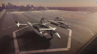 «Ιπτάμενο ταξί» σχεδιάζει η Uber σε συνεργασία με τη NASA