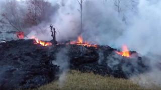 Χαβάη: Η λάβα του ηφαιστείου Κιλαουέα απειλεί εργοστάσιο παραγωγής ηλεκτρικής ενέργειας
