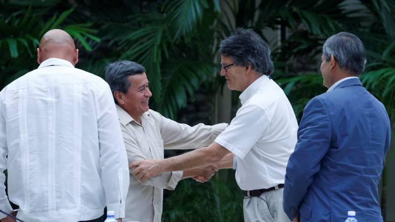 Κολομβία: Κυβέρνηση και ELN διαπραγματεύονται ειρηνευτική συμφωνία στην Κούβα