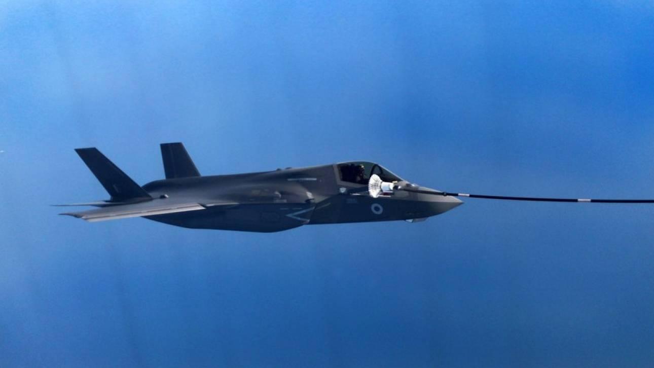 «Παρθενική» πτήση για το πρώτο αμερικάνικο F-35 της Τουρκίας