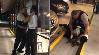 Βίντεο: Βίαιη προσαγωγή Αφροαμεριανού από αστυνομικό στις ΗΠΑ