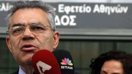 Εξαγοράσιμη ποινή φυλάκισης πέντε ετών για τον  Τ. Μαντέλη