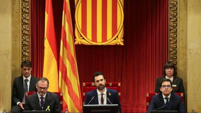 Το καταλανικό κοινοβούλιο ψηφίζει για νέο πρόεδρο της περιφέρειας