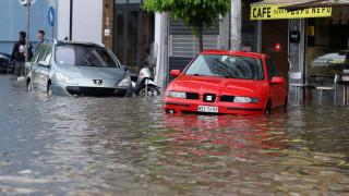 Κακοκαιρία: Στα 73 χιλιοστά το νερό που έπεσε στη Θεσσαλονίκη - Μέσος όρος τα 35