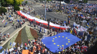Πολωνία: Χιλιάδες άνθρωποι συμμετείχαν σε μια «Πορεία για την Ελευθερία»