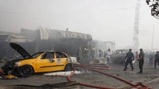Βομβιστική επίθεση με νεκρούς στο Ιράκ ανήμερα των βουλευτικών εκλογών