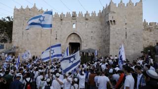 Eορταστικές εκδηλώσεις στο Ισραήλ για τη μεταφορά της αμερικανικής πρεσβείας στην Ιερουσαλήμ