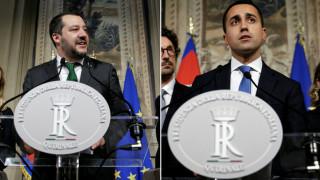 «Κλείδωσε» η συμφωνία Κινήματος Πέντε Αστέρων - Λέγκα για την ιταλική κυβέρνηση