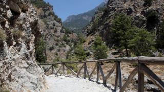 Αφιέρωμα του CNNi στο φαράγγι της Σαμαριάς: Ολόκληρη η Κρήτη σε 16χλμ