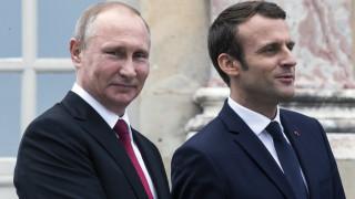 Δέσμευση από Πούτιν - Μακρόν για παραμονή στην πυρηνική συμφωνία με το Ιράν