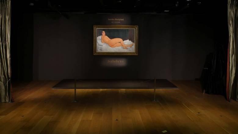 Πολύτιμο γυμνό: 157,2 εκατ. δολάρια για ένα γυμνό του Μοντιλιάνι