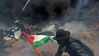 Γιορτή στην Ιερουσαλήμ, θάνατος στη Γάζα