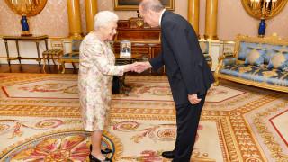 Ο Ερντογάν συνάντησε τη Βασίλισσα Ελισάβετ
