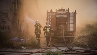 Φωτιά στη Διεύθυνση Αλλοδαπών στην Πέτρου Ράλλη