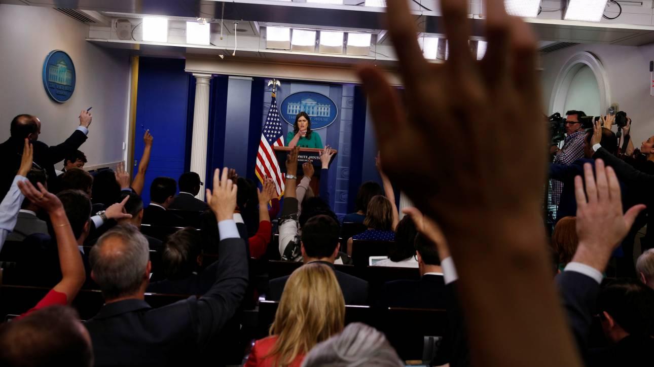 «Πονοκέφαλος» για τον Λευκό Οίκο οι διαρροές πληροφοριών