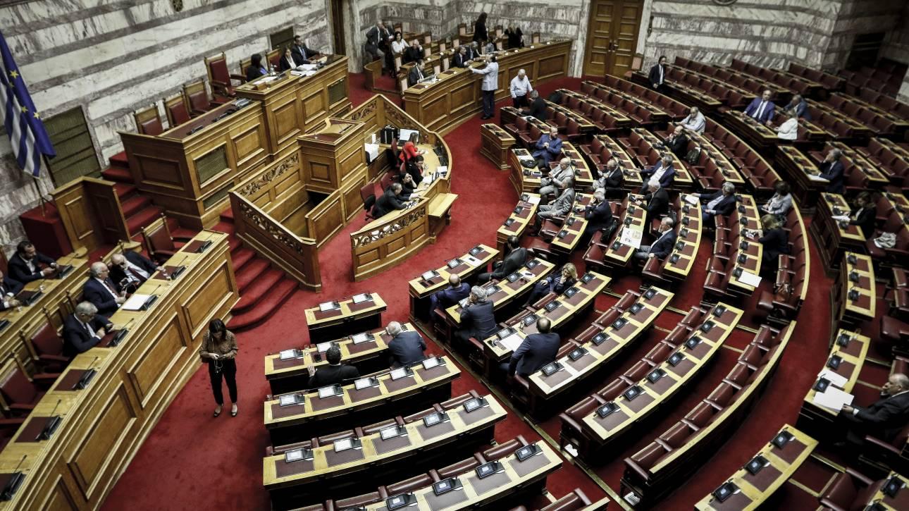 Ένταση στη Βουλή στη συζήτηση για τον «Κλεισθένη»