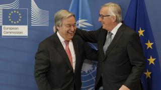 Γιούνκερ: Η ΕΕ θέλει να κρατήσει ζωντανή την πυρηνική συμφωνία με το Ιράν