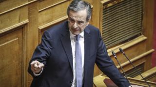 Υπόθεση Novartis: «Έχει μπλέξει άσχημα ο κ. Τσίπρας και οι συνεργοί του», λέει ο Σαμαράς