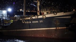Ελεύθερος ο εκπρόσωπος της διαχειρίστριας εταιρείας των δεξαμενόπλοιων «Αγία Ζώνη»