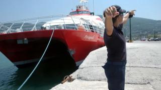 Μηχανική βλάβη στο Flying Cat 6 - Επιστρέφει στο λιμάνι του Πειραιά
