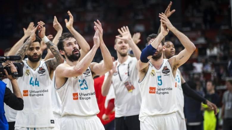 Ευρωλίγκα: Η Ρεάλ Μαδρίτης στον τελικό για το 10ο τρόπαιο