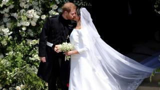 Βασιλικός γάμος: Πρίγκιπας Χάρι και Μέγκαν Μαρκλ είναι πλέον σύζυγοι