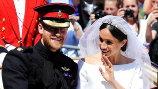 Βασιλικός γάμος: Παραμυθένια βόλτα Χάρι - Μέγκαν με άμαξα μετά την γαμήλια τελετή