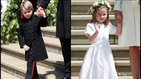 Βασιλικός γάμος: Η πριγκίπισσα Σάρλοτ «έκλεψε» την παράσταση