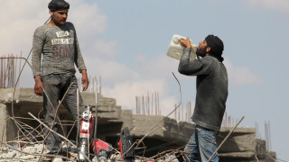 Συρία: Κατάπαυση του πυρός σε προάστιο της Δαμασκού